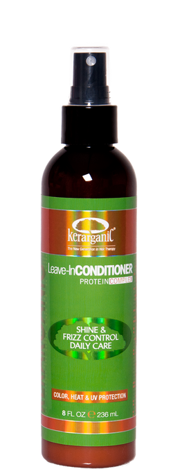 KERARGANIC KERATIN CONDITIONER LEAVE-IN 8oz/236ml