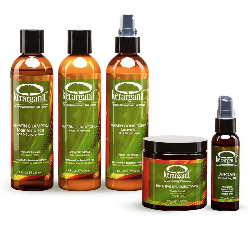 POST-TREATMENT KERATIN SET - 5 PRODUCTS